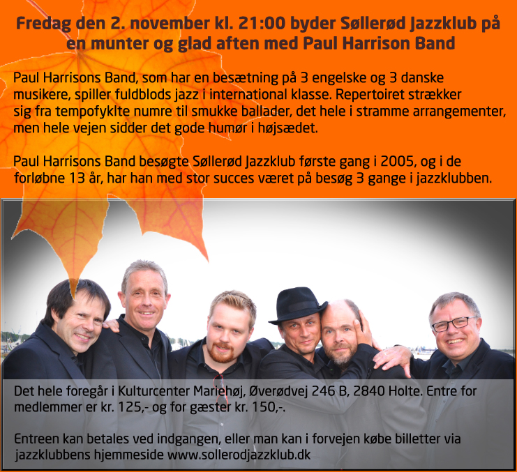 Søllerød Jazzklub Paul Harrison 2 november 2018.jpg